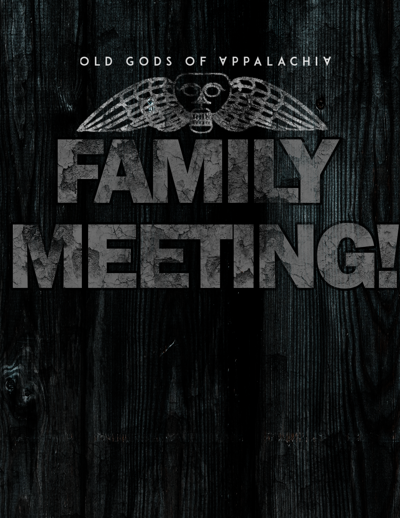 Special Announcement / Family Meeting Art