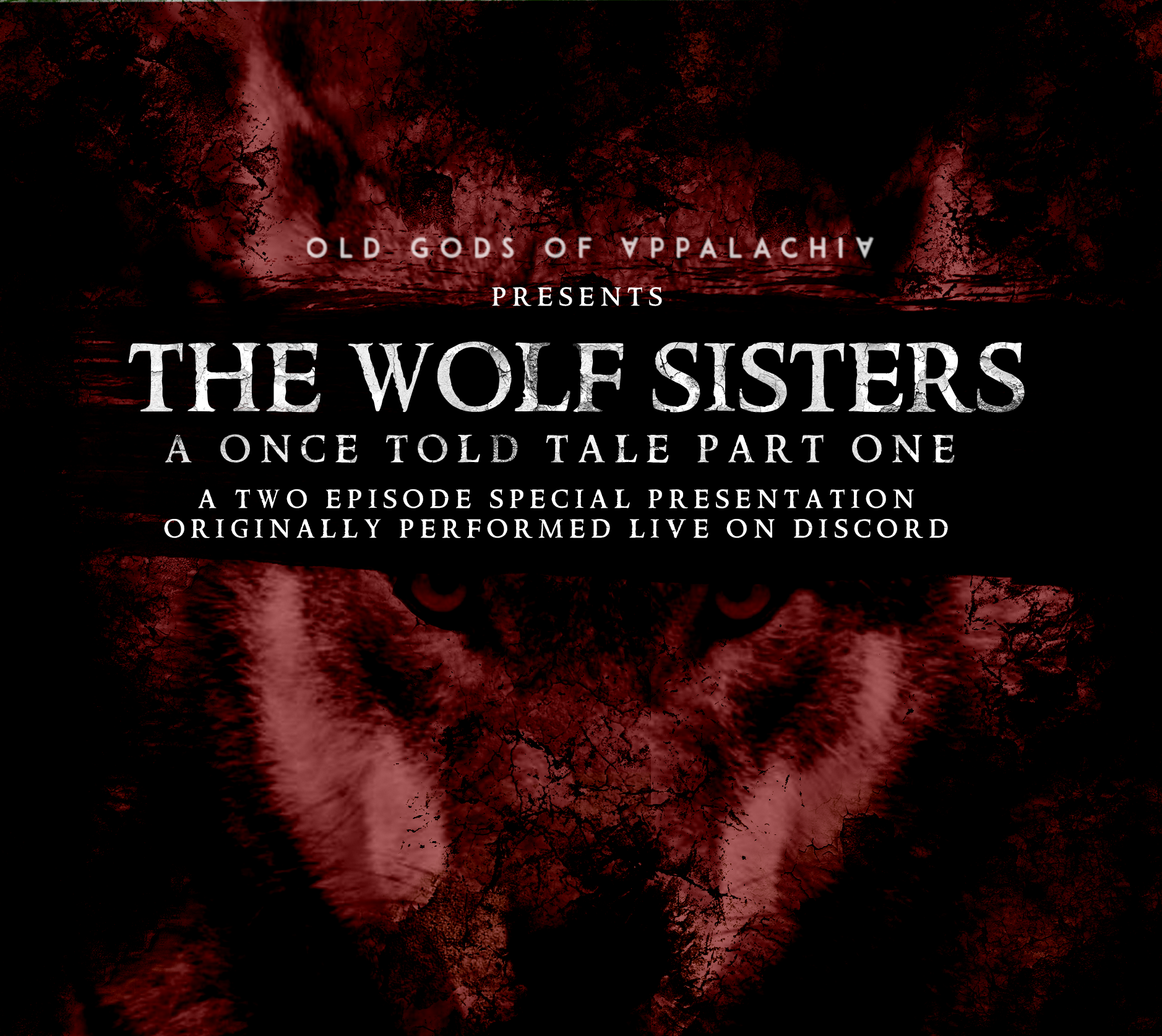 A Once-Told Tale: The Wolf Sisters Part One Art